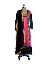 Pink Designer Anarkali Suit - Sanchey