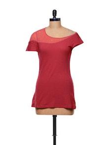 Simple Red Top - CHERYMOYA