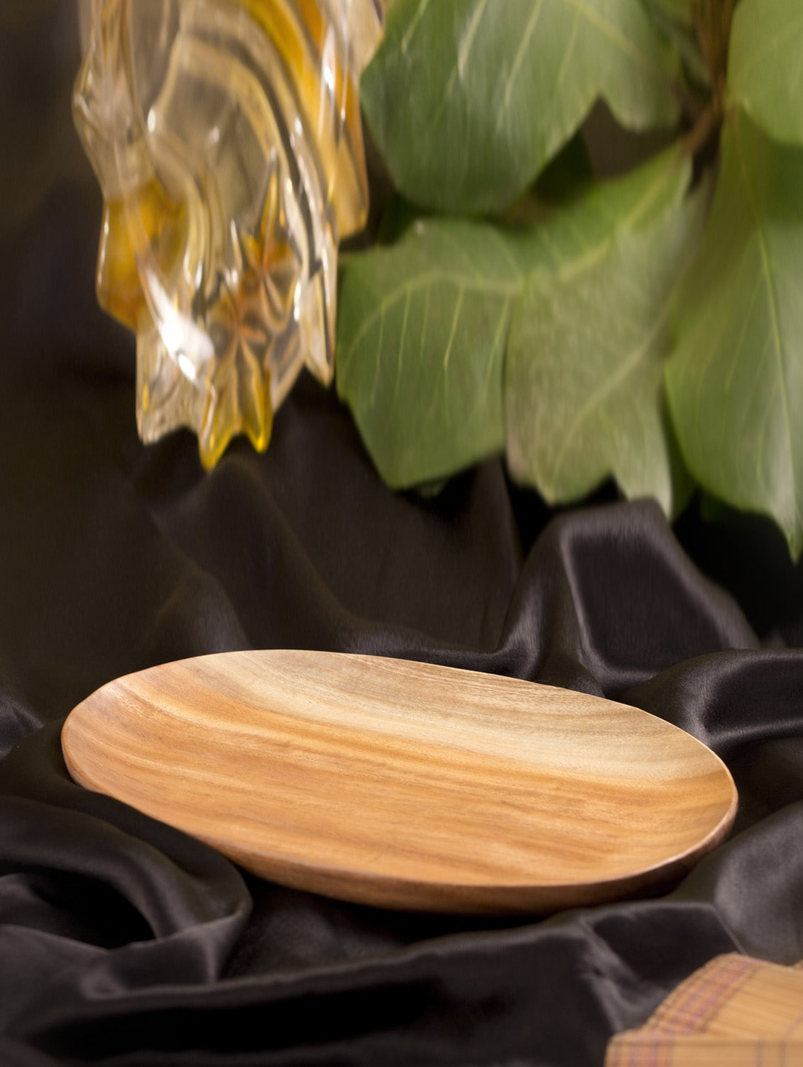 Wooden Oval  Serving Tray - ARM'S