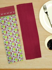 Colorful And Joyful Set Of 2 Kitchen Towels - Home Colors
