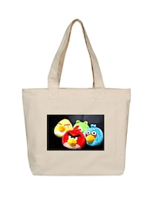 Angry Birds Canvas Tote Bag - OXA