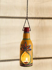 Bottle Shaped Hanging Light Holder - ExclusiveLane