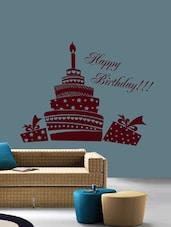 Happy Birthday Wall Art ( Brown ) - DeStudio