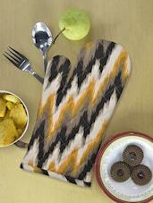Multi-coloured Printed Kitchen Glove - Ambbi Collections