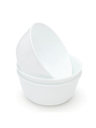 White Vitrelle Glass Curry Bowl -  online shopping for Bowls