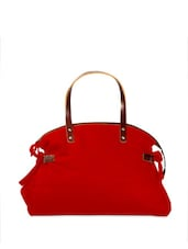 Mist Red Fashionable Tote Bag - YOLO - You Only Live Once