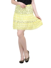 Lovely Light Yellow Skirt - Lalana