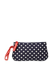 Star Design Navy Blue Pouch - Be... For Bag