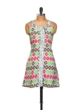 Colourful Tribal Print Kurti - Yepme