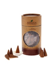 Pack Of Lavender Incense Cones With A Ceramic Holder - Fragrance World India
