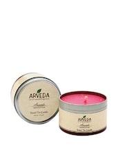 Geranium Rose Aroma Travel Tin Candle - Fragrance World India