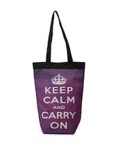 Trendy Purple Tote Bag - The House Of Tara