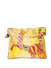 Multi-coloured Egyptian Warrior Print Laptop Sleeve Bag - The House Of Tara