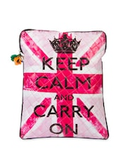 Keep Calm And Carry On' Laptop Sleeve Bag - The House Of Tara
