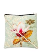 Floral Digital Print Cross Body Bag - The House Of Tara