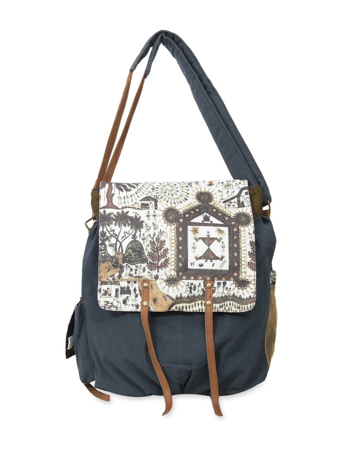 Buy Tribal Print Trendy Back-pack Cum Sling Bag by The House Of Tara -  Online shopping for Backpacks in India  9bfd3f0fbb2be