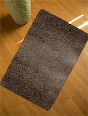 Brown Textured Table Mat- Set Of 6 - Freelance