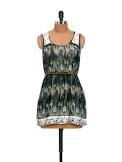 Black And White Summer Dress - La Zoire