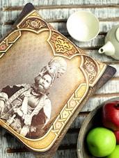 Raja Of Rajasthan Digital Print Cushion Cover - Aapno Rajasthan