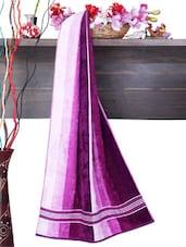 Purple Palette Cotton Bath Towel - Aqua Pearl