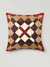 Set Of 5 Maroon Cushion Covers - By
