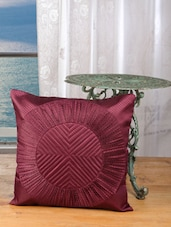 Elegant Purple Cushion Covers (set Of 5) - Dekor World