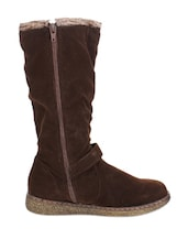 Absolutely Fab Brown Boots - Stylistry