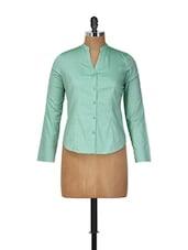 Mint Green Formal Shirt - Meira