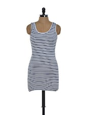 Nautical Striped Cotton Knit Tank Top - Hypernation