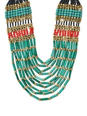 Multicolour Chunky Beads Necklace - VR Designers