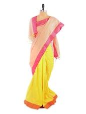 Fantastic Yellow Saree With Blouse Piece - ROOP KASHISH