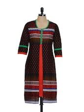Stunning Ethnic Black Kurta - ETHNIC