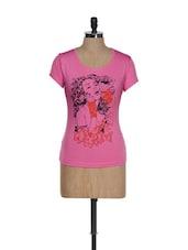 Artsy Girl Pink Graphic Top - TSG Breeze