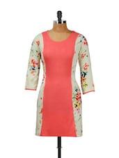 Floral Print Pink Dress - CHERYMOYA