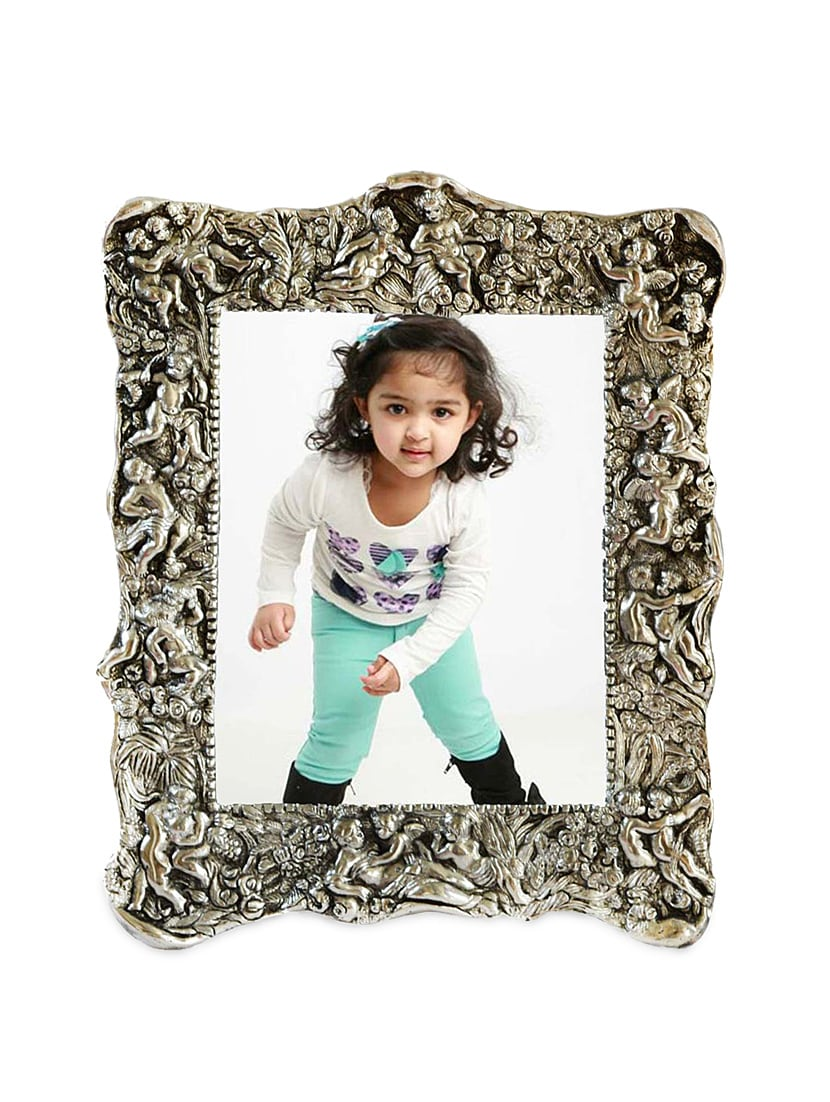Buy Antique Silver Photo Frame by Ecraftindia - Online shopping for ...