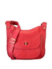 Retro Pink Chic Sling Bag - Phive Rivers