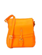Mandarin Orange Classy Sling Bag - Phive Rivers