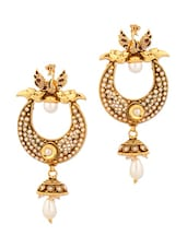 Traditional Earrings With Pearls - Voylla