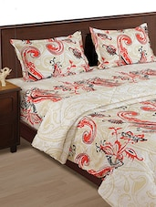 Red Paisley Double Comforter - HOUSE THIS