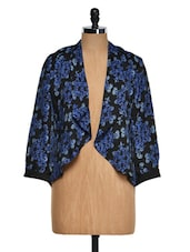 Floral Jacket Style Shrug - Purys