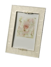 SQUARE LARGE PHOTO FRAME WITH METAL DETAILING - Fennel