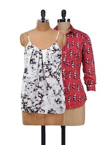 Birds And Gathers Tops Set - @ 499