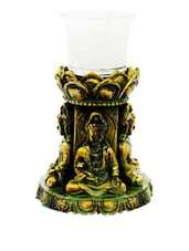 Antique Idol Shiva Candle Holder - Gifts By Meeta