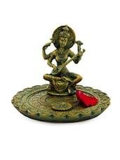 Antique Goddess Saraswati Idol - Gifts By Meeta