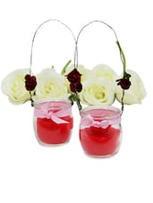 Captivating Red Candles - Gifts By Meeta
