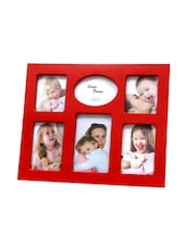 Collated Red Photo Frame - Gifts By Meeta