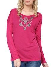 Pink Long-Sleeved Top - L'elegantae