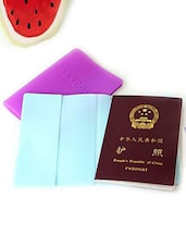 Silicon Passport Covers - Cool Trends