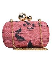 Pink Pigeon Box Clutch - ARTychoke