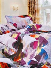 Multi-coloured Double Bedsheet With Two Pillow Cover -  Frábær - 937602